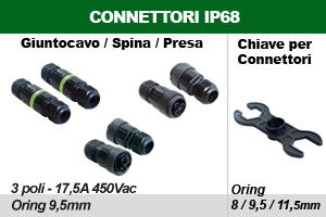 Connettori IP68