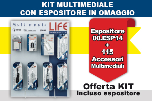 KIT Multimedia + espositore