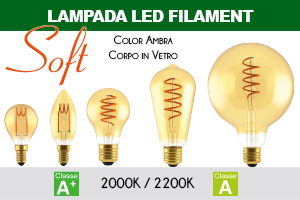 Lampade LED Soft Filament